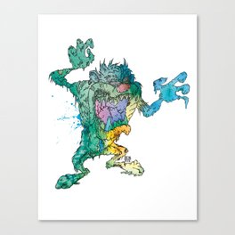 ZombManian Devil Canvas Print