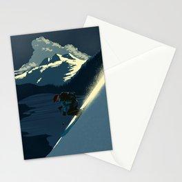 Revelstoke skiing Stationery Cards