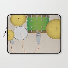 Drum Set Print Laptop Sleeve