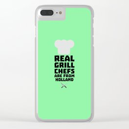 Real Grill Chefs are from Holland T-Shirt D3q61 Clear iPhone Case