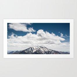 Telescope Peak Art Print