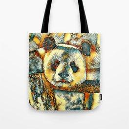 AnimalArt_Panda_20180101_by_JAMColors Tote Bag