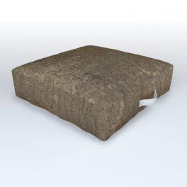 Rustic Tree Bark Pattern Outdoor Floor Cushion