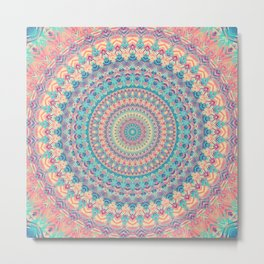 Mandala 510 Metal Print