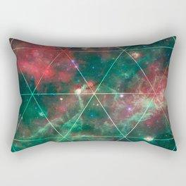 Spacial Geometrica #2 Rectangular Pillow