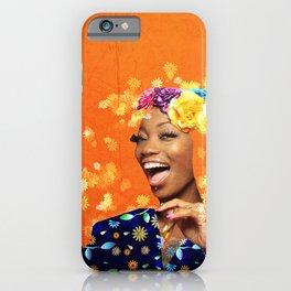 Just a random girl iPhone Case