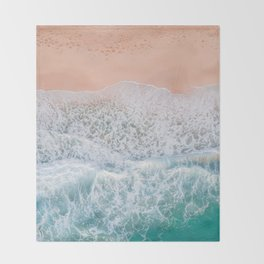 Sea 11 Throw Blanket