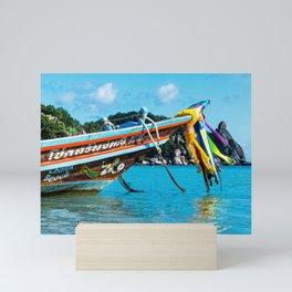 Long-Tail Koh Tao, Thailand Mini Art Print
