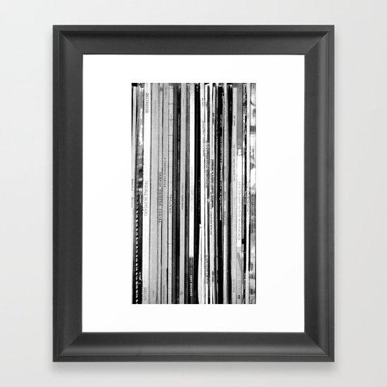 Rainy Wednesday Framed Art Print