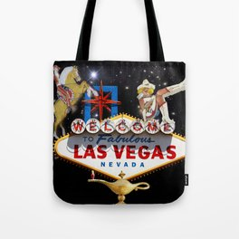 Las Vegas Welcome Sign Tote Bag