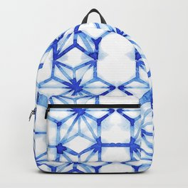 Abstract geometric star Backpack