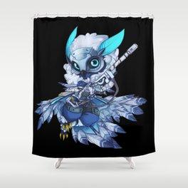 snow down Ana Shower Curtain