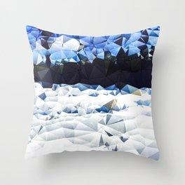 Carolina Snow Throw Pillow