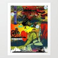 Apathy Art Print