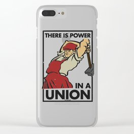 There is Power in a Union Clear iPhone Case