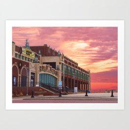 Convention Hall Art Print