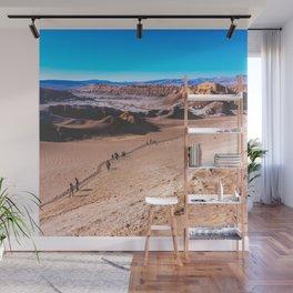 Valle de la Luna (Moon Valley) in San Pedro de Atacama, Chile 3 Wall Mural