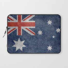 The National flag of Australia, Vintage version Laptop Sleeve