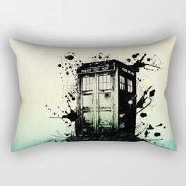 TARDIS Doctor Who Rectangular Pillow