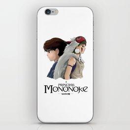 Ashitaka x Mononoke iPhone Skin