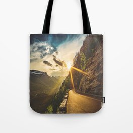 Road-to-the-Sun Tote Bag