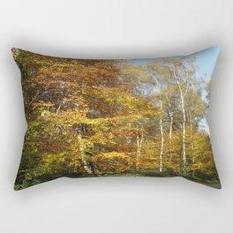 Autumnal Path Rectangular Pillow