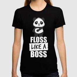 Panda Floss Like a Boss T-shirt