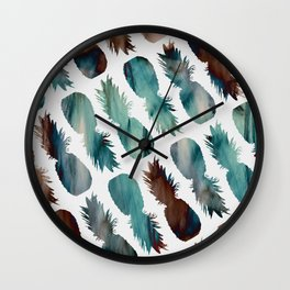 Pineapple-palooza Wall Clock
