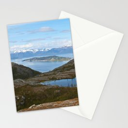 Kvaenangsfjord, Norway Stationery Cards