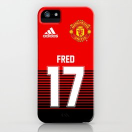 Fred - Manchester United Home 2018/19 iPhone Case