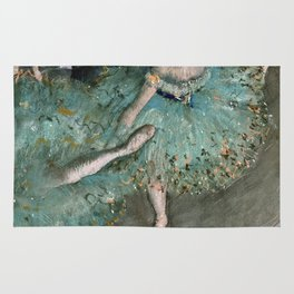 Edgar Degas - Dancer In Green Rug