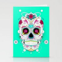 calavera Stationery Cards featuring Calavera by yoaz