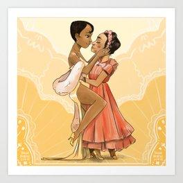 Josephine x Frida Art Print
