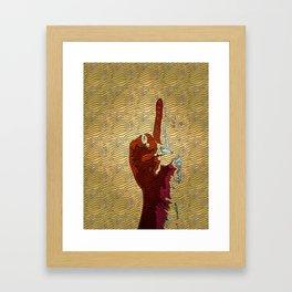lady like pop art Framed Art Print