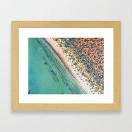 Denham  - Western Australia Framed Art Print