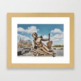 Pont Alexandre III Bridge Paris, France Framed Art Print