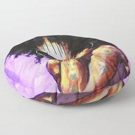 Naturally II PURPLE Floor Pillow