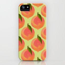 Peaches iPhone Case