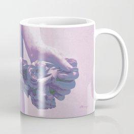 FLOWER GARLAND: Purple Coffee Mug