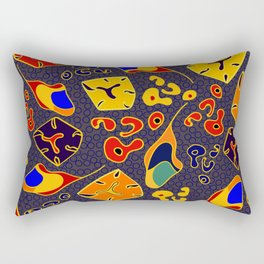 African Fancy Rectangular Pillow