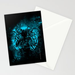 terror from the deep space Stationery Cards