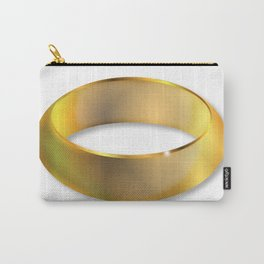 Bright Golden Ring Carry-All Pouch