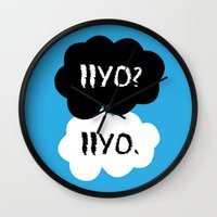 dmmd Wall Clocks featuring Iiyo  by Johanna Stark