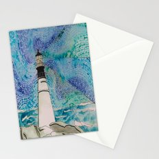 The Moody Blue Light Stationery Cards