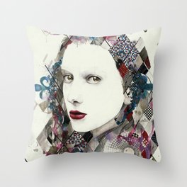 As Heaven is Wide Throw Pillow