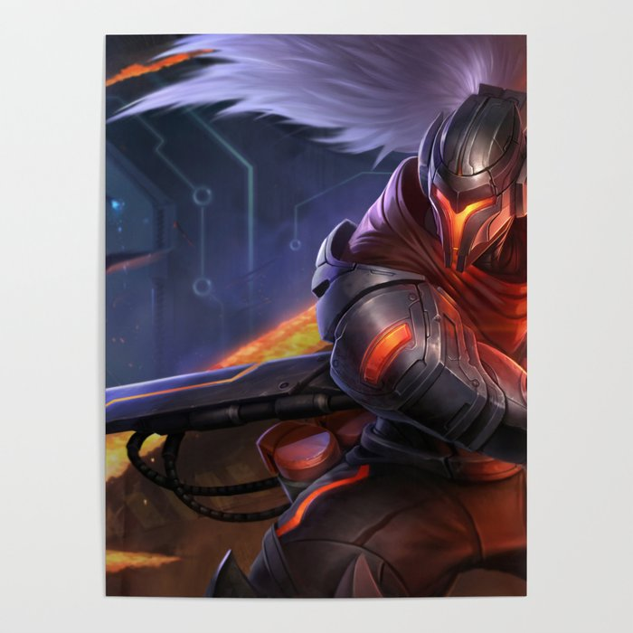 Project Yasuo League Of Legends Poster By Mrfattemi Society6