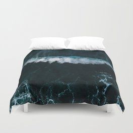 Wave in Motion - Ocean Photography Duvet Cover