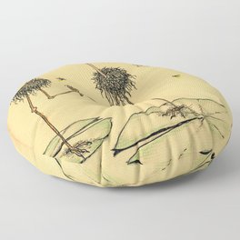 A Slice of Macaroni Floor Pillow