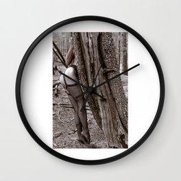 Natural Angles Wall Clock
