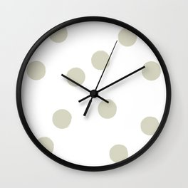 BIG DOTS Wall Clock